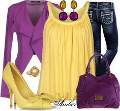"""""""René"""" by stay-at-home-mom on Polyvore Love the colors togheter!!"""