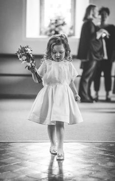 Beautiful bride in jumpsuit by Leanne Keaney Photography // www.onefabday.com