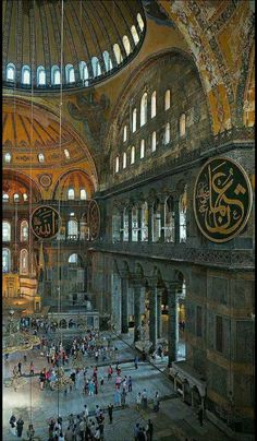 I've been here many times and each time it's overwhelmingly amazing. Istanbul's Hagia Sophia. See it on private Istanbul tours by Archaeologous.com