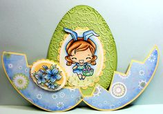 Egg surprise card - bjl