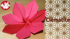MOD Origami - Clématite - Clematis [Senbazuru]