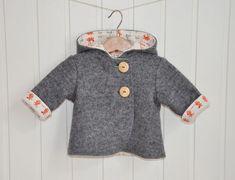 """Walk-Jacke """"Minna"""" Baby von tildemor von tildemor-mini auf DaWanda.com:"""