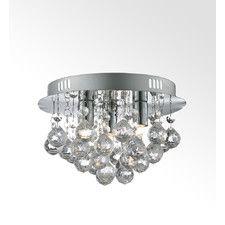 3 Light Semi-Flush Ceiling Light