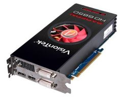 VisionTek AMD Radeon HD 6850 1 GB GDDR5 PCI Express HD Video Graphics Card (900339) by VisionTek. $179.99. From the Manufacturer                AMD Radeon™ HD 6800 Series graphics ―Get Radeon™ in Your System Immerse yourself with AMD Eyefinity technology and expand your games across multiple displays. Experience ultra-realistic visuals and explosive HD gaming performance in true ―EyeDefinition with AMD's second generation graphics featuring full Microsoft DirectX