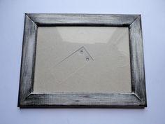 """Holzbilderrahmen im """"Shabby Chic""""-Style - Silber"""