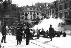The start line at the inaugural Monaco Grand Prix, April 14, 1929