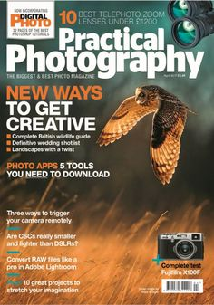 In this issue:  New ways to get creative: Complete British wildlife guide, Definitive wedding shotlist & landscapes with a twist.  10 best telephoto zoom lenses under £1200  Photo Apps: 5 tools you need to download  Three ways to trigger your camera remotely  Are CSCs really smaller and lighter than DSLRs?  Convert RAW files like a pro in Adobe Lightroom  Complete test on Fujifilm X100F  Plus! 10 great projects to stretch your imagination