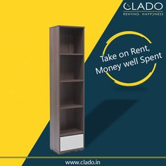 Living room ‪‎bookshelf‬!! Check out our ‪#furniture‬ hire collection. http://www.clado.in/furniture For more Details Call Us ☎ +91-81 30 598959, +91-81 30 598979 #clado #delhi #NCR #student #booklove
