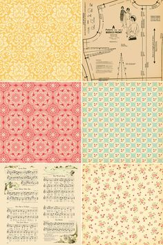 October Afternoon Thrift Shop Patterned Paper