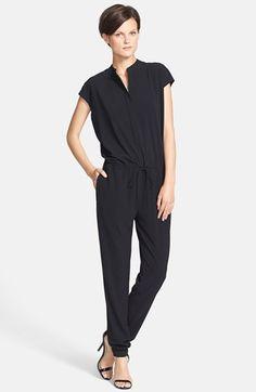 $365, Black Jumpsuit: Vince Jumpsuit Black 2. Sold by Nordstrom. Click for more info: https://lookastic.com/women/shop_items/147493/redirect