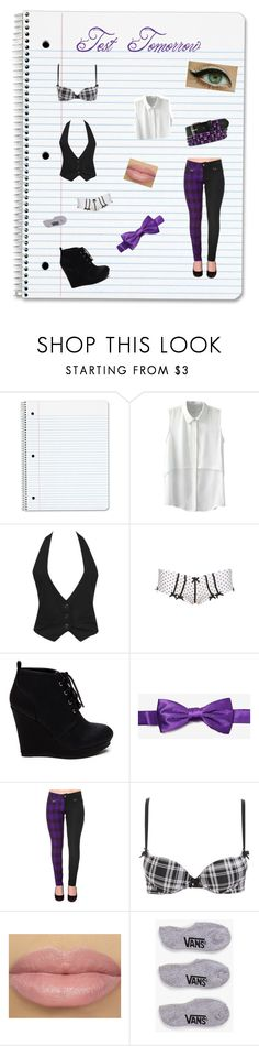 Testing and then Summer by xsafehavenx on Polyvore featuring Forever 21, Hot Topic, Charlotte Russe and Vans