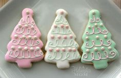 Christmas Cookies - perfect for a cookie exchange, for holiday treats or a Christmas Eve treat for Santa! cookie recipe