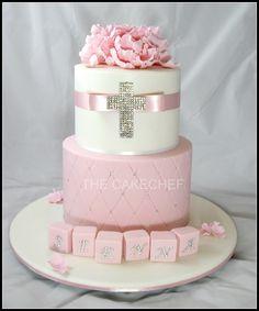 Christening Cake   Flickr - Photo Sharing!