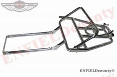 REAR LUGGAGE RACK CARRIER CHROME PLATED VESPA PX PE T5 SCOOTER