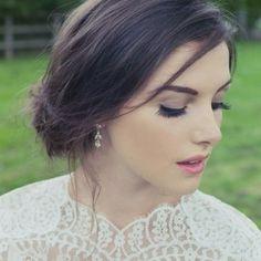 Silk earrings by Stephanie Browne
