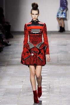 Mary Katrantzou Fall 2012 RTW.  Loved this show.  This is so fun!