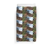 Horse, The Touch Of Tenderness. Duvet Cover
