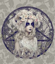 Secret Bloom by Natalie Shau - Dark and romantic, there is no denying the fact that Secret Bloom by Natalie Shau, an illustrator based in Vilnius, Lithuania, is an art series tha...