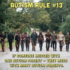 10 more Autism Rules