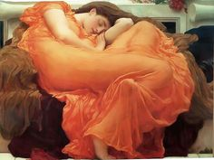 fredrick Leighton - Flaming June One of my all time favorite paintings!