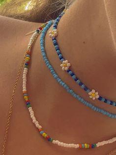 Diy Crafts Jewelry, Cute Jewelry, Jewelry Accessories, Handmade Jewelry, Diy 90s Jewelry, Beaded Jewelry Designs, Funky Jewelry, Trendy Jewelry, Jewelry Patterns