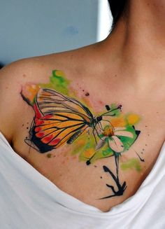 50 Dazzling Butterfly Tattoos Designs for Women. *** Look into even more at the picture