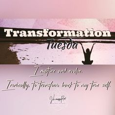 #TransformationTuesday  Transformation is not only about becoming a totally different being... Have you thought of how many times and instances you have transformed into someone else?  Have you asked yourself if you have become a better version of you?  Or have you ever considered this... Who you truly are at your core WHO IS PURE LOVE is and will always be the best that you can be?  Are you striving for transformation today?  Try just being yourself!  #jhoannarae #soulgeniussynergist…