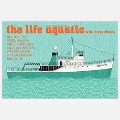 Life Aquatic Print