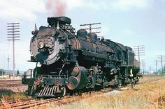 Union Pacific MK-1 class Mikado 2-8-2 Baldwin built in 1918, steam locomotive # 2170, seen at an unknown location & date