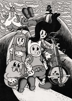 Adventure time - Cartoon Videos Kids For 2019 Art Adventure Time, Adventure Time Wallpaper, Trippy Wallpaper, Cartoon Wallpaper, Vintage Cartoon, Cartoon Art, Animes Wallpapers, Cute Wallpapers, Comic Cover