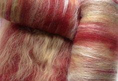 Alpaca/Corriedale  Antique Romance Spinning Batt by AlmaPark, $10.00