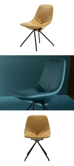 Pelle Frau® #chair DU 30 by Poltrona Frau | #design Gastone Rinaldi @poltronafrau