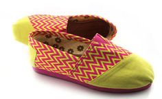 TOMS LATEST SUMMER CANDY CORRUGATED YELLOW