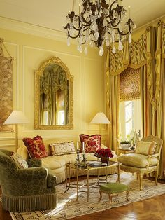 25 Unordinary Yellow Traditional Living Room Ideas — Home Decor Ideas Classic Home Decor, Classic Interior, French Interior, French Decor, French Architecture, Interior Architecture, Interior Design, My Living Room, Home And Living
