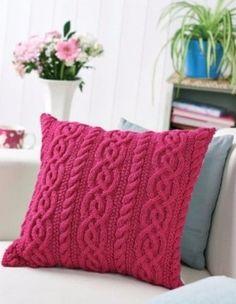 cojines a crochet paso a paso patrones