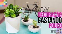 Como decorar gastando pouco - Mesa divertida DIY