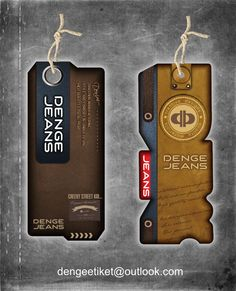 Tag Design, Label Design, Leather Label, Graphic Design Trends, Clothing Tags, Paper Tags, Textiles, Hang Tags, Patches