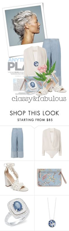 """classy & fabulous"" by queenrachietemplateaddict ❤ liked on Polyvore featuring Polaroid, Sonia Rykiel, Michelle Mason, Topshop, Zimmermann, Effy Jewelry and Grace"