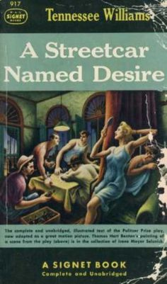 an analysis of illusions in a streetcar named desirea play by tennessee williams Tennessee williams' play a streetcar named desire was a very popular hit on the american stage during the 1940s this play also bagged williams with a pulitzer prize.