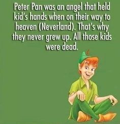 Quotes Disney Movies Mind Blown Peter Pan Ideas For 2019 Disney Conspiracy Theories, Cartoon Conspiracy, Cartoon Theories, Fan Theories, Sad Disney Quotes, Disney Memes, Funny Disney, Cool Disney Facts, Pixar Theory