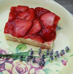Strawberries & Cream Squares 1 by firefly64, via Flickr