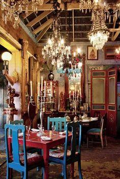 Cape to Cuba, Kapstadt - the interior design is beautiful! Cuban Restaurant, Vintage Restaurant, Restaurant Design, Varadero, Cuban Decor, Cuban Culture, Havana Nights, Cape Town South Africa, Boho Home