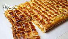 Hasır Börek Tarifi Pastry Design, Turkish Recipes, Diet Recipes, Waffles, Pasta, Food And Drink, Appetizers, Favorite Recipes, Bread