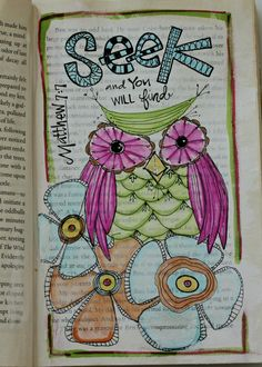 Repurposed book : Art Journal