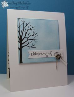 Stampin' Up! Clean and Simple Sheltering Tree