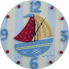 Nautical Wall Clock | Jack and Jill Boutique