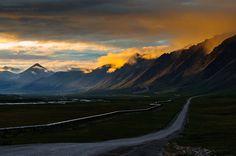 Brookes Range, Alaska.