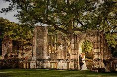 Romantic ruins at Slaugham Place wedding venue in West Sussex
