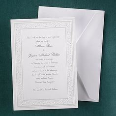 Dancing Hearts - #Invitation weddingneeds.carlsoncraft.com