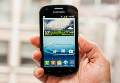 The Samsung Galaxy Reverb is compact, has long battery life, Android 4.0, and packs a removable battery.